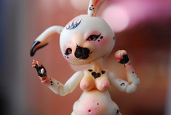 Magic ! (Koala Krash) Tags: rabbit bunny ball doll artist bjd lapin poupe jointed fenouil chimres tendres darkdojy