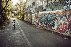 dalla-bici-10 (Sebastiano Pupillo) Tags: rome roma bike bici bikelane bicicletta montesacro fromthebike