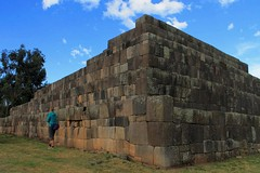 The Pyramid in Vilcashuaman