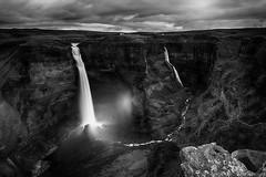 Hifoss - Granni (Kristinn R.) Tags: sky clouds waterfall iceland nikon rocks canyon hifoss foss granni d3x nikonphotography kristinnr skancheli