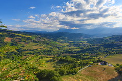 View from Monte San Martino