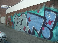 EQT! (mkorsakov) Tags: city graffiti bahnhof crew piece tagging hbf bunt mnster innenstadt t2r eqt