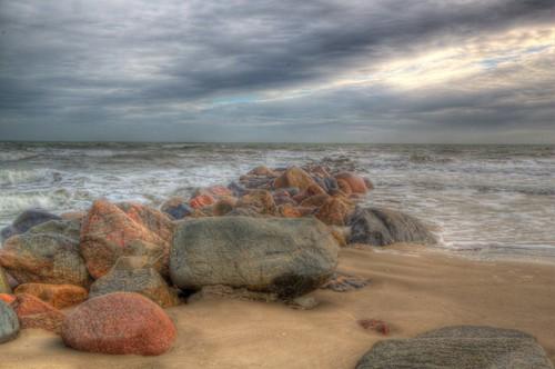 Blåvand rocks