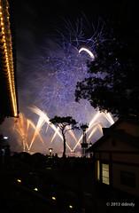 IllumiNated silhouettes (ddindy) Tags: orlando epcot florida fireworks illuminations disney disneyworld waltdisneyworld
