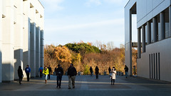 fujisawa - keio university shonan campus 3 (Doctor Casino) Tags: evan architecture campus architect fumihikomaki keidai keiouniversity shonanfujisawa 19901994 ellerbrook makifumihiko keiōgijukudaigaku shonanfujisawakanpasu