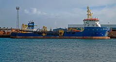 UKD ORCA (Welsh Gold) Tags: docks barry orca suction hopper dredger ukd