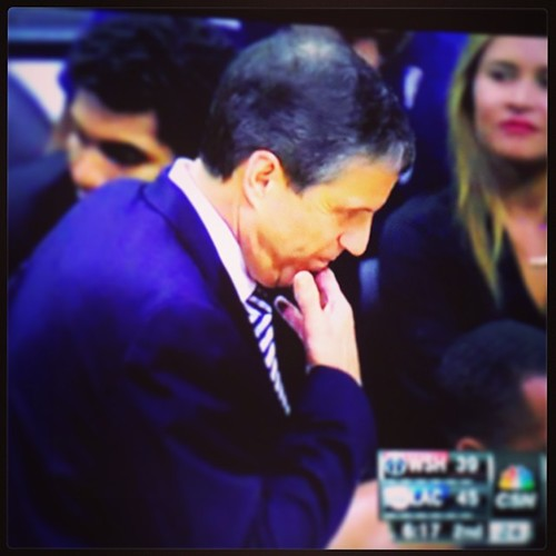 Game 45 #WittmanFace: 'Contemplation is the mother of invention, but also, losing is the muther of fucker.' #wizards