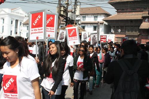 International Condom Day 2014: Nepal