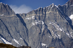 Lhotsewand (zora_schaf) Tags: schnee nepal mountain snow trekking berge climbing kathmandu lhotse nuptse amadablam gebirge mteverest himmalaya 8000er pentaxk5ii zoraschaf bergringe