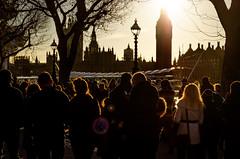 Rim Light (garryknight) Tags: street people sun london sunshine backlight nikon crowd halo bigben southbank flare lightroom rimlight 1855mmvr d5100 perfectphotosuite