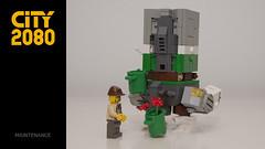 1-maintenance-3 (RG&B) Tags: city cute robot lego mecha mech 2080 cuusoo