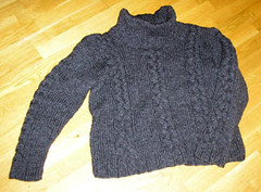 Knitted wool sweater (Mytwist) Tags: wool fetish sweater craft collection jumper knitted pullover crewneck cabled woolfetish handgestrickt woolfreaks