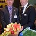 Alan Waite, Brakes and Michael Vaughan, IHF President