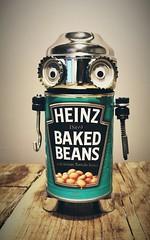 Ro-Bean (Riccardo Frabotta) Tags: metal robot beans bean recycle baked flickrandroidapp:filter=none vision:text=0772 vision:sky=0544