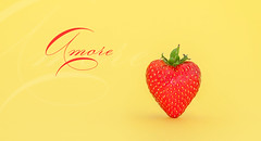 Amore Cuore (AlexMentzel) Tags: red food love yellow sex strawberry berry nikon romance lovers passion romantic seduction amore pocketwizard foodstyling
