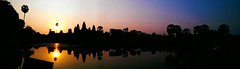 (jimchou69) Tags: sunrise cambodia angkorwat siemreap       flickrandroidapp:filter=none