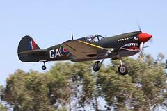 P-40N VH-ZOC (3) (joolsgriff) Tags: australia airshow kittyhawk warbird curtiss p40 warhawk p40n tyabb vhzoc