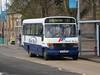 Blue Bus, Shotts SF54OVB (busmanscotland) Tags: blue bus clayton beaver mercedesbenz vario shotts plaxton slaemuir o814 sf54ovb lainton