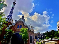 (djsuffix) Tags: barcelona spain gaudi catalunya guell espagne parc barcelone gracia catalogne