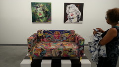 Studio Loveseat (THEfunkyman) Tags: paris art girl studio gallery williams expo galerie exhibition rob loveseat pharell pruitt perrotin