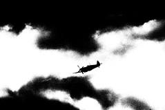 RIAT 26986bwcotnmod (kgvuk) Tags: aircraft spitfire fairford riat supermarine royalairforce battleofbritainmemorialflight raffairford bbmf