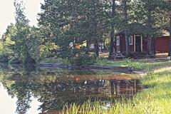 In Madawaska (Sylvie Poitevin Photography) Tags: camping ontario woods logcabin madawaska