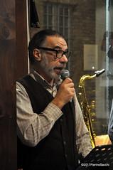 N2122895 (pierino sacchi) Tags: kammerspiel brunocerutti feliceclemente igorpoletti improvvisata jazz letture libreriacardano musica sassofono sax stranoduo