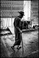 Old Man Walking (Armin Fuchs) Tags: arminfuchs myanmar yangon man old street chinesequarter