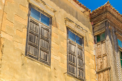 Greece (B.Ferngren) Tags: house facade stone old jaggy