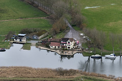 The Beauchamp Arms on the River Yare in Norfolk - uk aerial (John D F) Tags: beauchamp pub river yare beauchamparms sailingclub buckenhamsailingclub norfolk eastanglia aerial aerialphotography aerialimage aerialphotograph aerialimagesuk aerialview britainfromabove britainfromtheair viewfromplane droneview hires hirez highresolution highdefinition hidef
