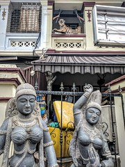 Dancers - Singapore's Little India (ashabot) Tags: singapore asia wanderlust wanderiing traveler traveldiaries explore seetheworld seeasia streetscenes citystreets cities internationalcities littleindia statues sculpture