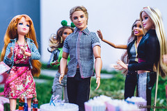 Ken's Picnic Birthday (Flávia_Duarte) Tags: barbie ken midge nikki grace styleluxo lifeinthedreamhouse fashionista birthday birthdayparty picnic party garden doll dolls mattel