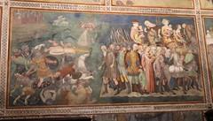 Bartolo di Fredi (1330-1410) l'esercito del faraone annegato nel mar Rosso - Storie dell'antico testamento (1367) - Collegiata di Santa Maria Assunta - San Giminiano (raffaele pagani) Tags: collegiatadisantamariaassunta duomodisangimignano sangimignano basilicaminore minorbasilica duomo chiesa church collegiata architetturaromanica romanesquearchitecture affreschi frescoes lippomemmi federicomemmi bartolodifredi domenicoghirlandaio jacopodellaquercia giulianodamaiano provinciadisiena toscana tuscany centroitalia centeritaly italiacentrale italia italy unesco unescoworldheritagesite unescopatrimoniomondialedellumanità patrimoniodellunesco patrimoniomondialedellumanità artemedievale medievalart canon