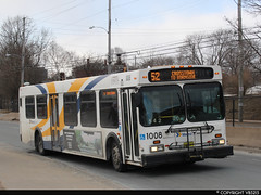 Metro Transit #1008 (vb5215's Transportation Gallery) Tags: metro transit halifax 2002 new flyer d40lf