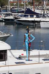 Pablo (shazequin) Tags: shazequin mannequin humanform modernart popart humanfigure manequim manequin maniquí maniqui indossatrice manekin figuur أزياء maniki namještenica manekýn etalagepop μανεκέν דוּגמָנִית манекен skyltdocka groupshot people indoorportharbouryachtboatpier