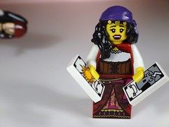 Fortune Teller (Dex1138) Tags: sun tower jack lego fortune sparrow pirate tarot minifig teller series9