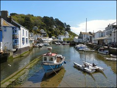 The Harbour, Polperro, Cornwall (Lincolnian (Brian)) Tags: uk england water boats cornwall village harbour abc polperro