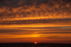 Cloud Waves (schandle) Tags: sunset michigan lakesuperior calumet waterworkspark
