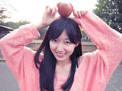 Apples for me (BlueJeff) Tags: jeff apple taiwan taipei nina      ourdailylife