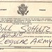 Bill Schultz, Enlistment Promise, May 6, 1969, front