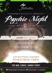 Psychic Night Poster (Dark Horse Creative) Tags: woman art illustration design graphicdesign psychic darkhorsecreative