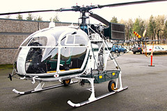 Single L Lama (planephotoman) Tags: lama aerospatiale mcminnvilleor sa315b evergreenhelicopters evergreenaviationspacemuseum cn2428 n55963