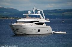 Sally Slade (Zak355) Tags: bay scotland clyde boat yacht luxury rothesay isleofbute sallyslade princess85