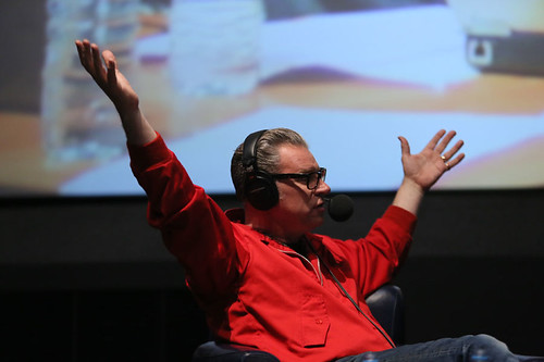 Film Critic Mark Kermode during the Radio 5 Live event at the Cineworld