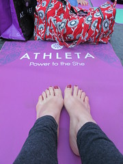 IMG_1602 (lacey bean) Tags: nyc yoga timessquare solsticetsq summersolsticeintimessquare