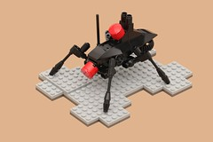 Blackpunk Creeper (pasukaru76) Tags: lego walker steampunk moc canon100mm blackpunk