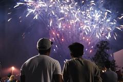Fireworks at Grand Park (Chris Camargo) Tags: sparkles america 35mm prime lights nikon fireworks explosion boom fourthofjuly nightsky f2 streamers fullframe nikkor fx independenceday ff fizzle murica d700