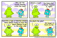 Mars TV cartoon strip (nikkibass20) Tags: ca new original mars color cute fun robot tv hilarious cool funny comedy nikki bass drawing space joke alien humor ufo aliens nasa entertainment jokes marty et cartoons pilot extraterrestrial martian toons spaceships entertaining martians whacky knobby illustrationdesign animationseries funcartoon marstv nikkibass