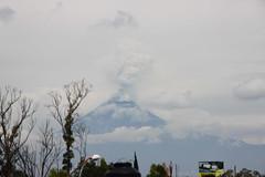 Seales de humo (El mundo de Laura) Tags: mexico volcano puebla popocatepetl volcan