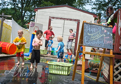 Water balloons (grilljam) Tags: summer ethan birthdayparty ephraim ewan graham ayden waterballoons 4yrs july2013